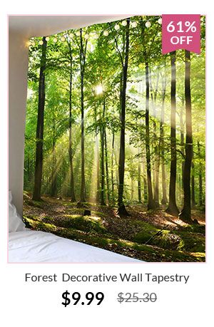 Forest Decorative Wall Tapestry