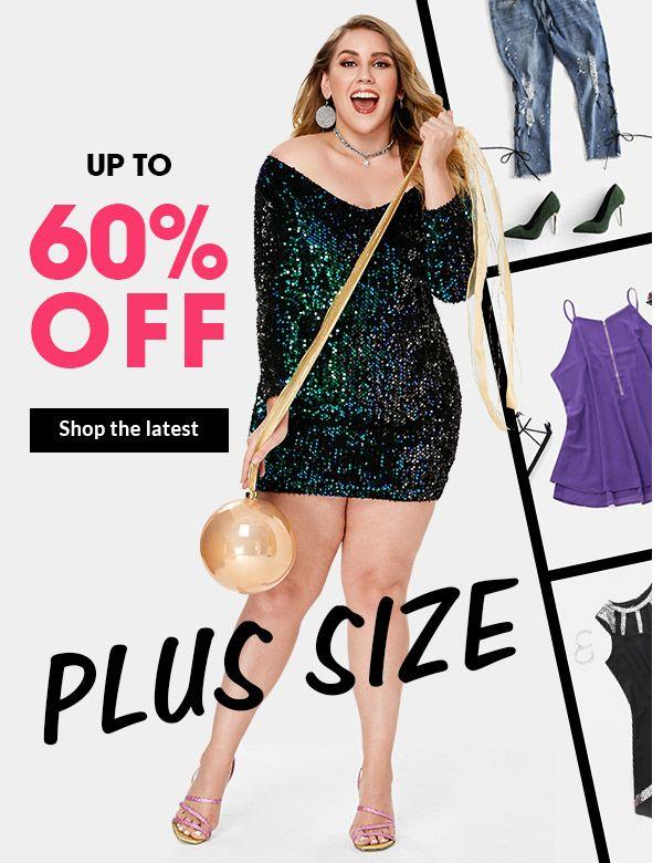 6f2fc195b288b Rosegal: Womens Plus Size Trends & Mens Fashion Styles Online