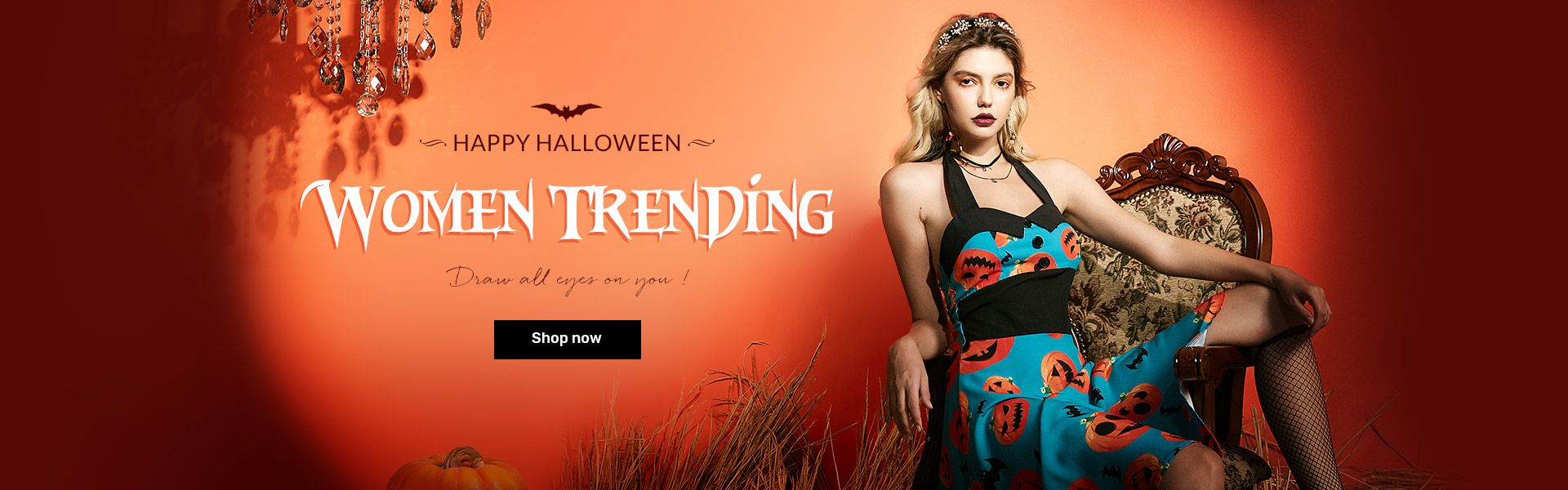 rosegal.com - Get Buy 2 Get 1 30% Off on Women's Halloween Clothing