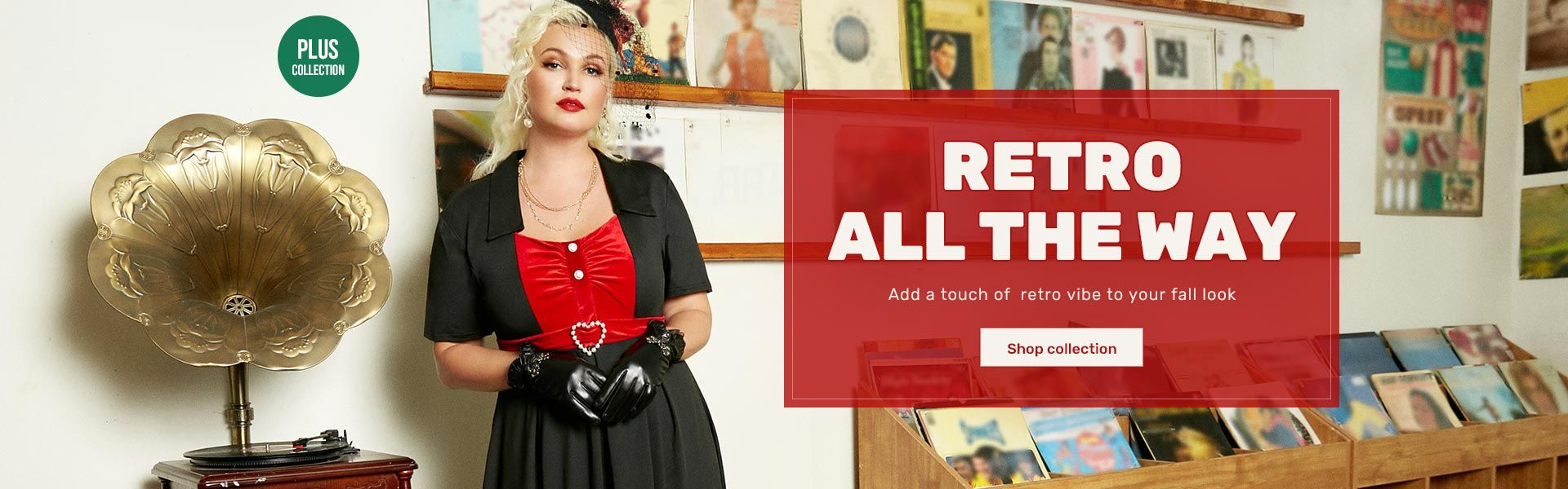 rosegal.com - Plus Size Retro Collection