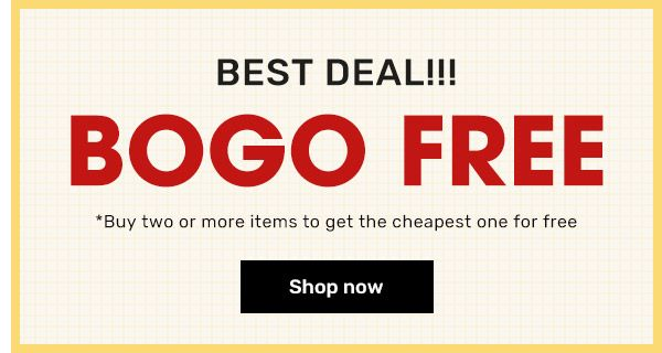 rosegal.com - Buy 1 Get 1 Free on select products