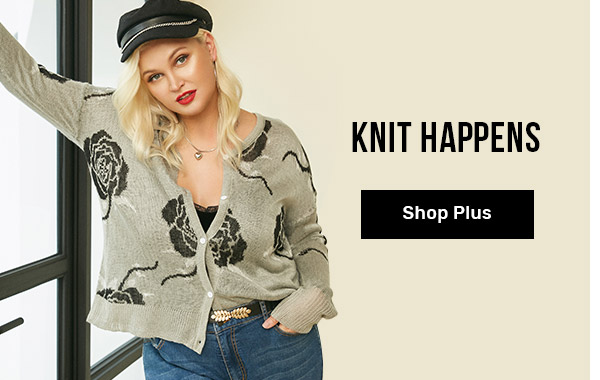 rosegal.com - Buy Two Get One Free on Women's Plus Size Knit Collection