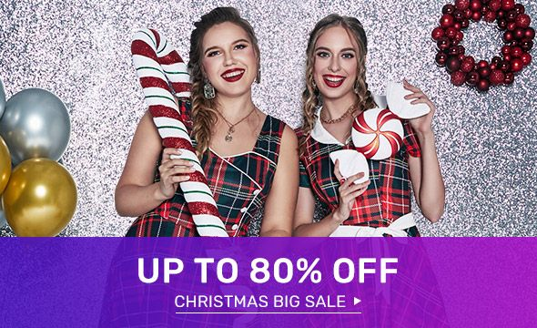 Rosegal - Up To 80% Discount on Christmas Dresses and Shirts