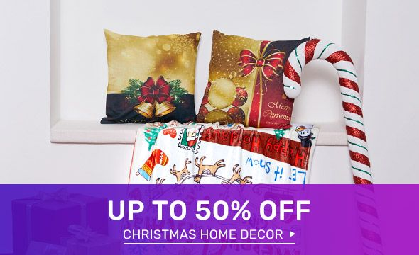 Rosegal - Get Upto 50% Off on Christmas Home Decor
