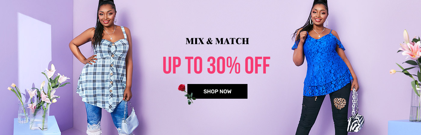 rosegal.com - Upto 30% OFF on Plus size Mix and Match Womens Fashion Apparels