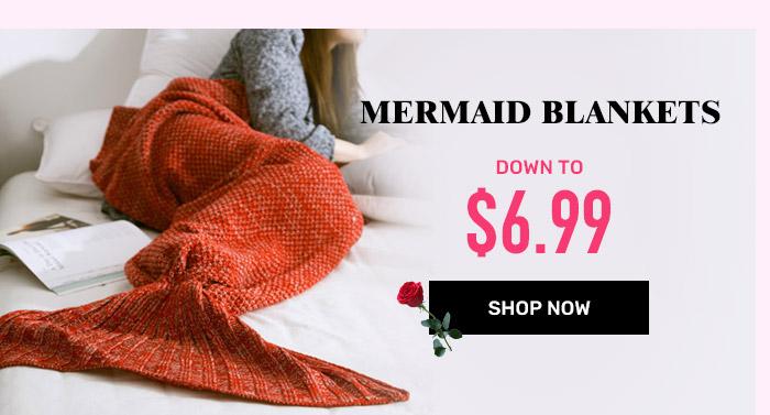 rosegal.com - Mermaid Blankets