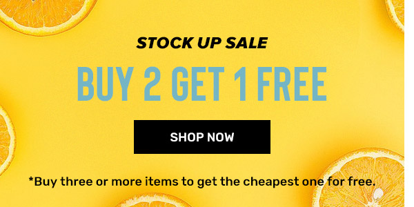 rosegal.com - Stock Up Sale – Buy 2 Get 1 for Free on all products