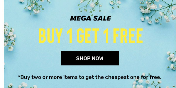 rosegal.com - Mega Sale – Buy 1 Get 1 for Free on all products