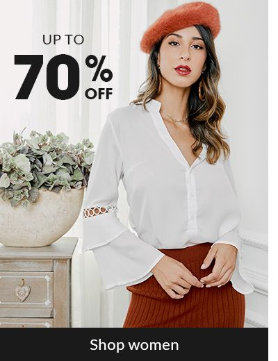 rosegal - Avail Up To 70% Discount on Women's Clothing