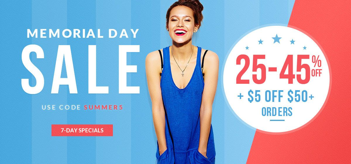 rosegal-Memorial Day Sale