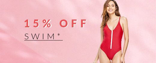 15% Off Swim