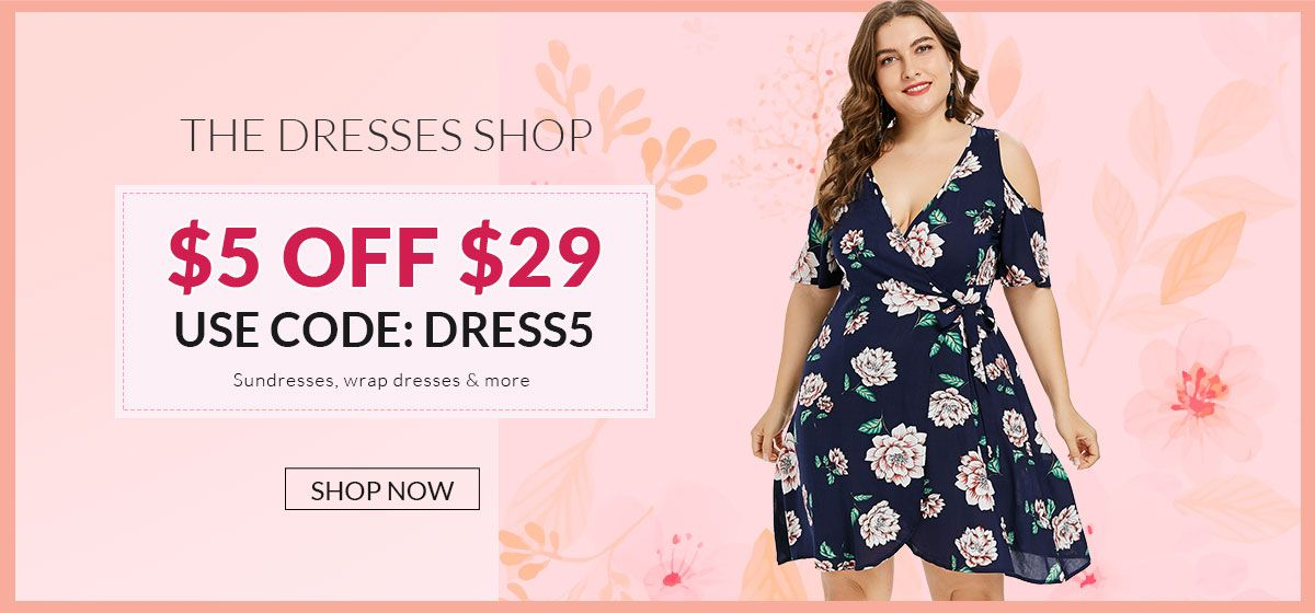 rosegal-The Dresses Shop: $5 Off $29