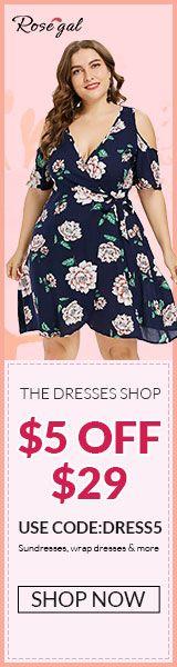 Rosegal plus size dress of summer promotion