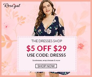 plus size dress of summer promotion