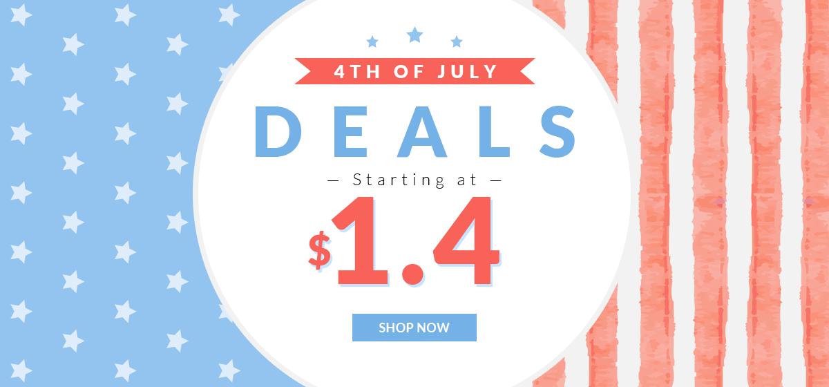 rosegal-July 4th Deals