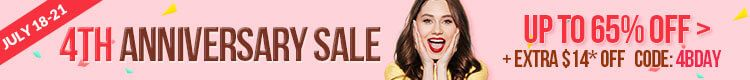 4th Anniversary Sale Women