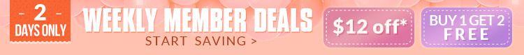 Weekly Member Deals