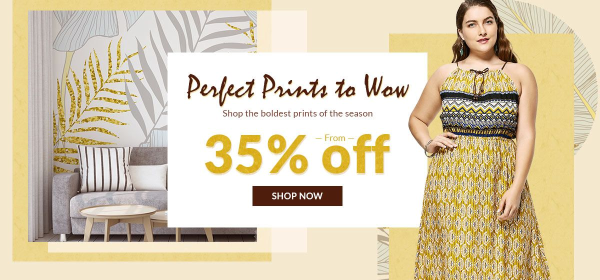 rosegal-Perfect Prints to Wow