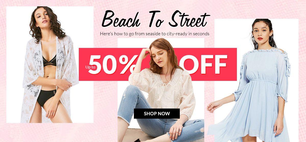 rosegal-Beach To Street