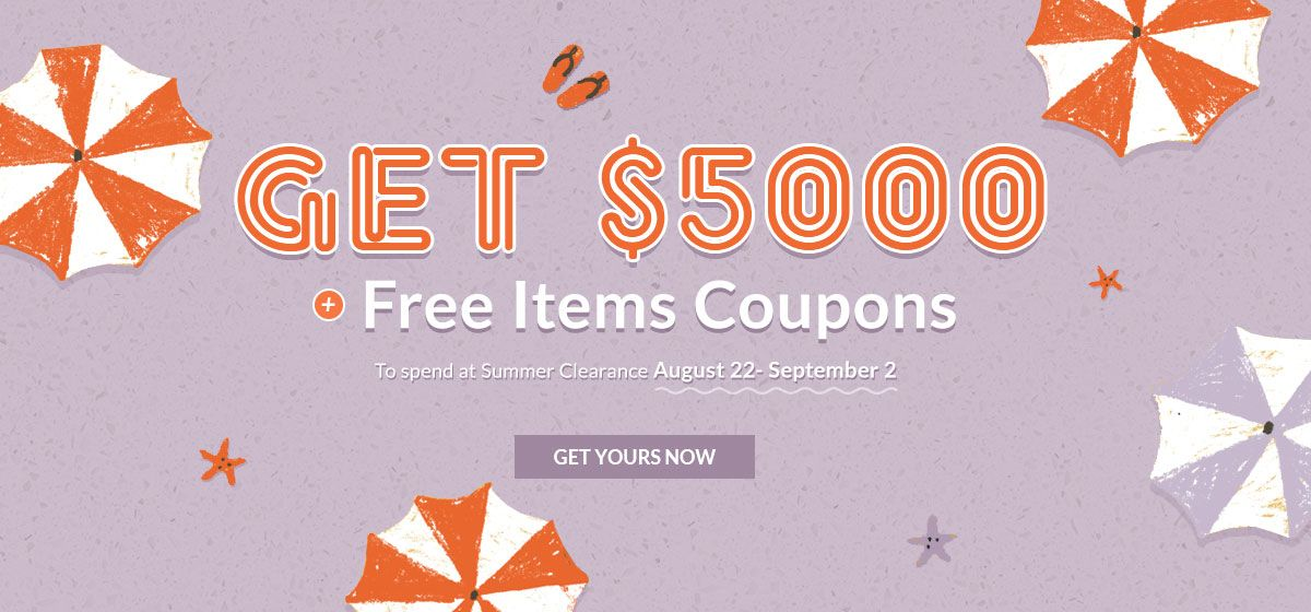 rosegal-Get $5000 + Free items Coupons