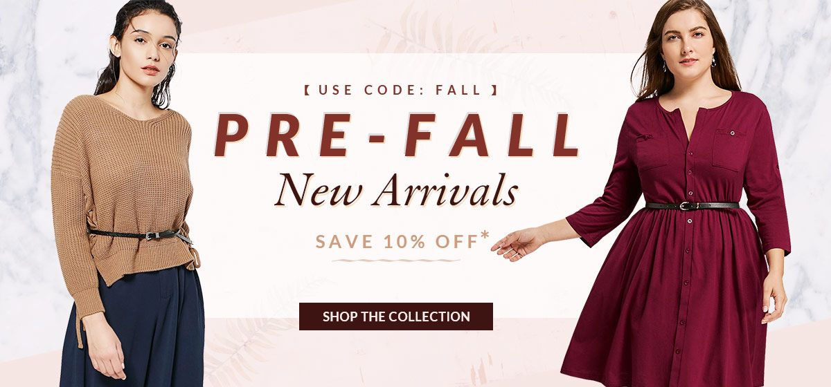 rosegal-Fall New Arrivals
