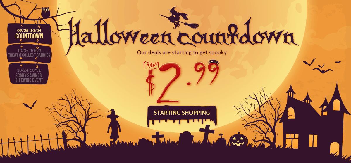 rosegal-Halloween Countdown