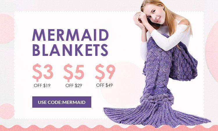 rosegal-Mermaid Blankets
