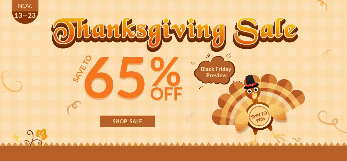rosegal-Thanksgiving Sale