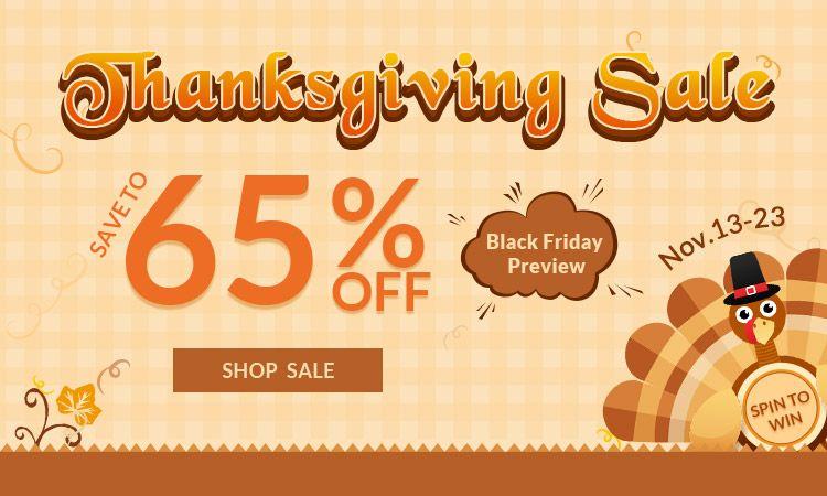 rosegal-Thanksgiving Sale