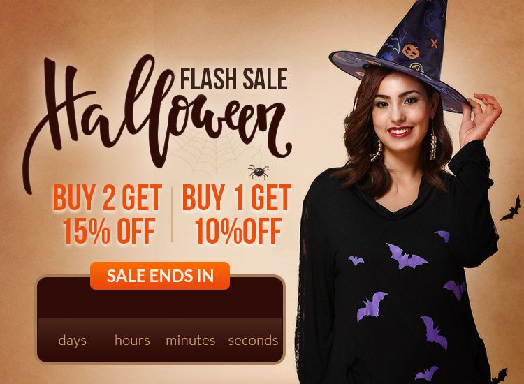 5028db0f94916 Halloween Special Sale Online: Buy 2 Get 15% Off