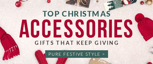 Top Christmas Accessories