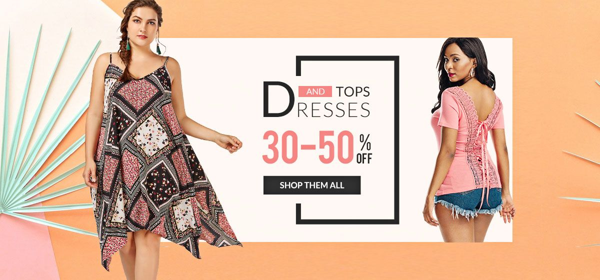 rosegal-Dresses and Tops Sale
