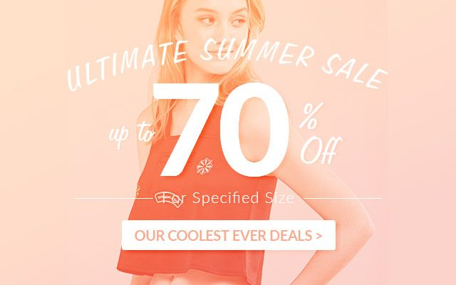 ULTIMATE Summer Sale