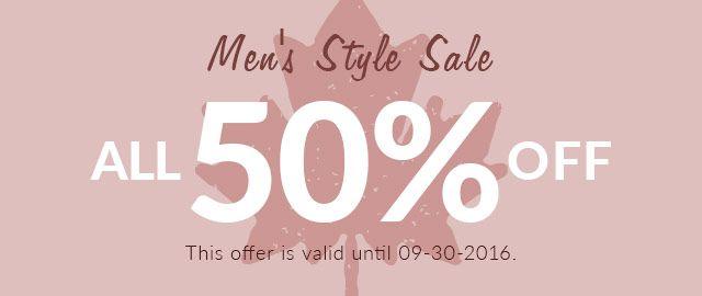 men's style sale